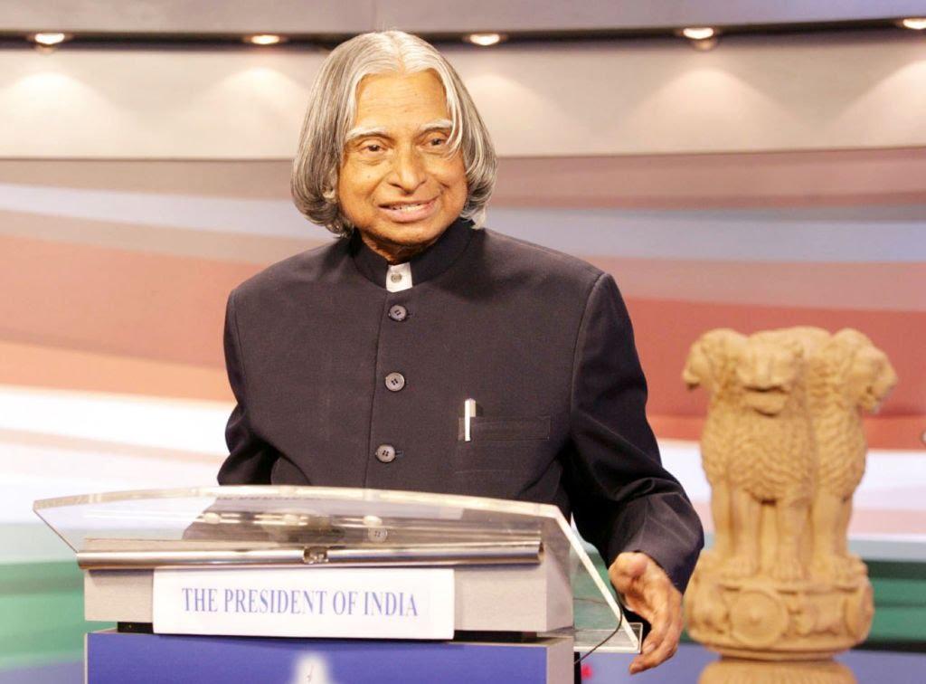 APJ Abdul Kalam as President of India
